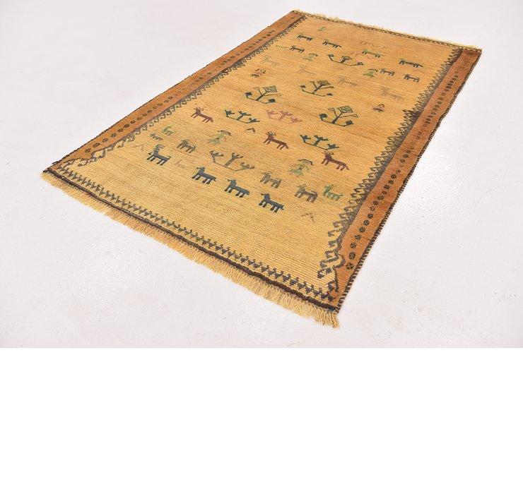 3' 7 x 5' 10 Ghashghaei Persian Rug