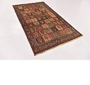 Link to 3' 9 x 6' 6 Shiraz-Gabbeh Persian Rug