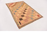Link to 3' 6 x 5' 2 Shiraz-Gabbeh Persian Rug