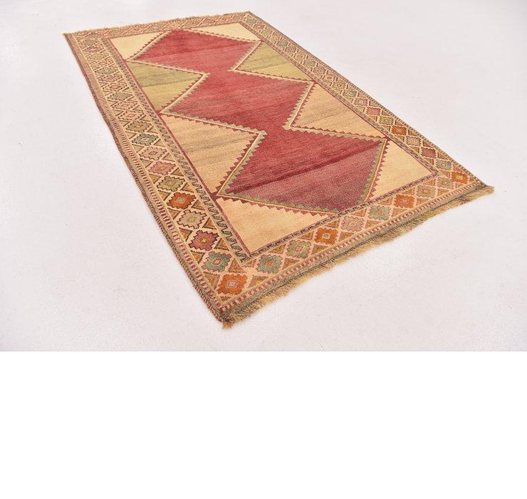 3' 10 x 5' 9 Shiraz-Gabbeh Persian Rug