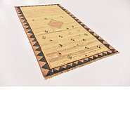Link to 3' 8 x 6' 8 Shiraz-Gabbeh Persian Rug