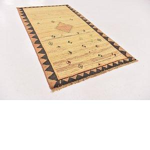 3' 8 x 6' 8 Shiraz-Gabbeh Persian Rug