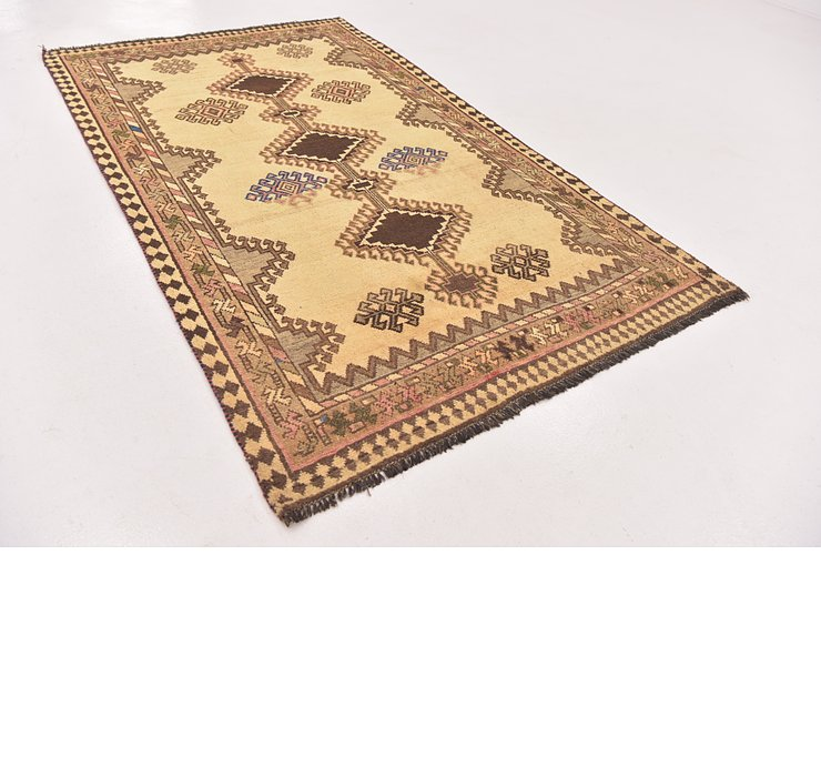 130cm x 218cm Shiraz-Gabbeh Persian Rug