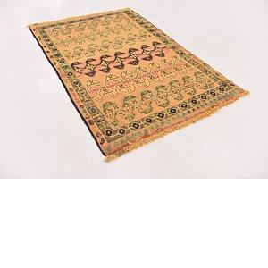 HandKnotted 3' 3 x 5' Shiraz-Gabbeh Persian Rug