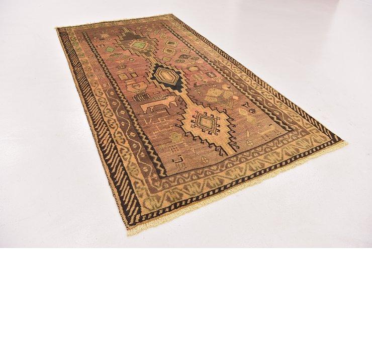 3' 10 x 7' 2 Shiraz-Gabbeh Persian Rug
