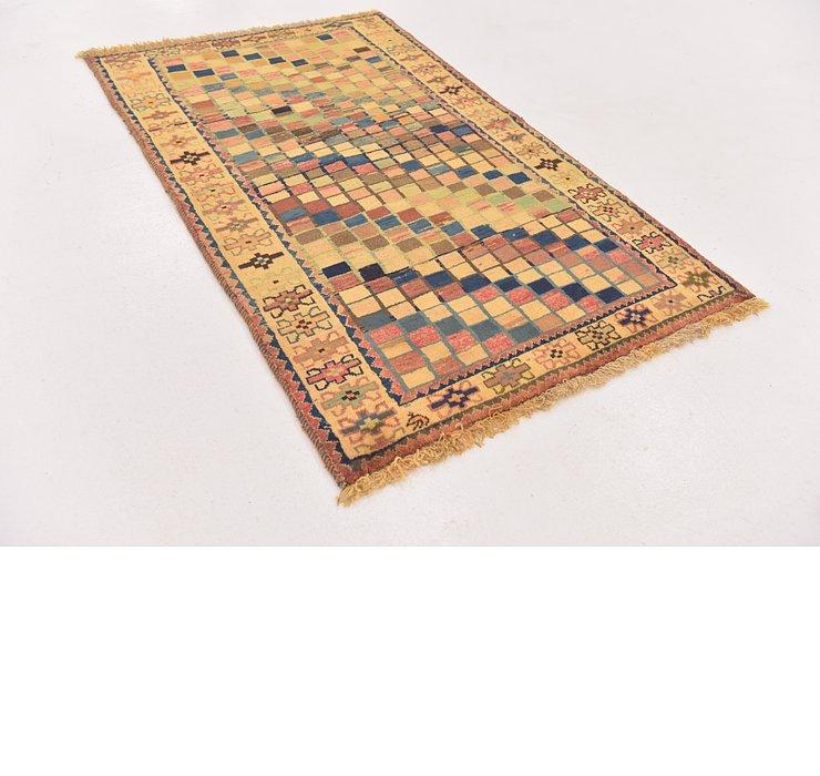 3' 2 x 5' 2 Shiraz-Gabbeh Persian Rug