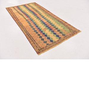 3' 4 x 6' 5 Shiraz-Gabbeh Persian Rug