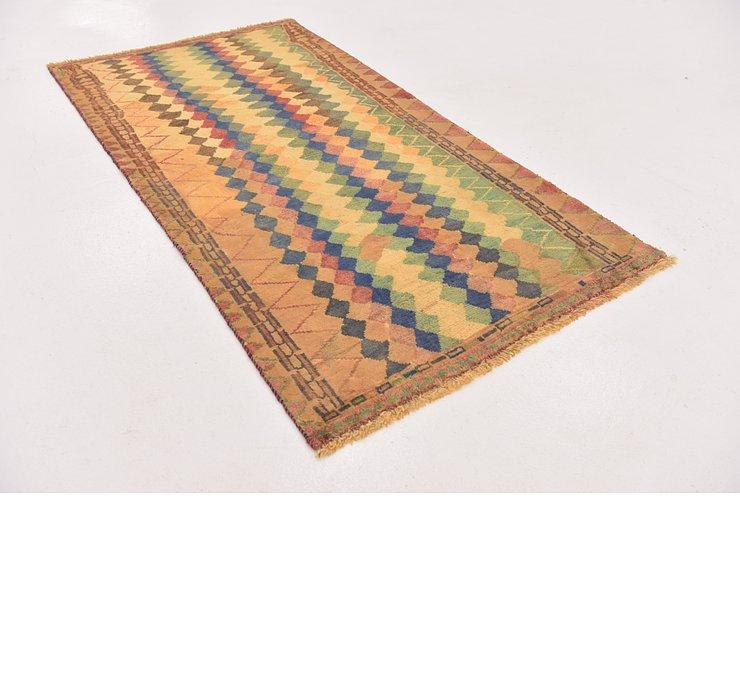 102cm x 195cm Shiraz-Gabbeh Persian Rug
