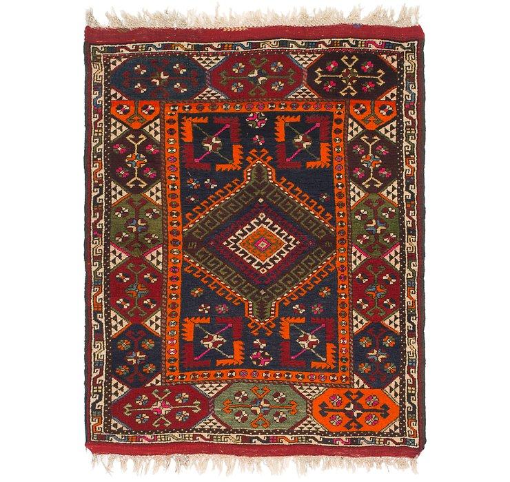4' 3 x 5' 9 Anatolian Rug