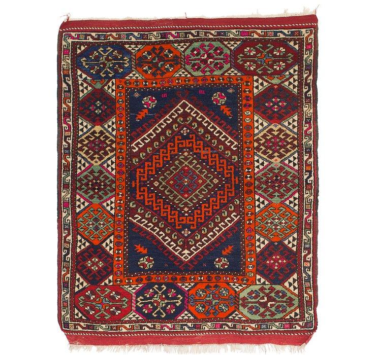 4' 3 x 5' 6 Anatolian Rug