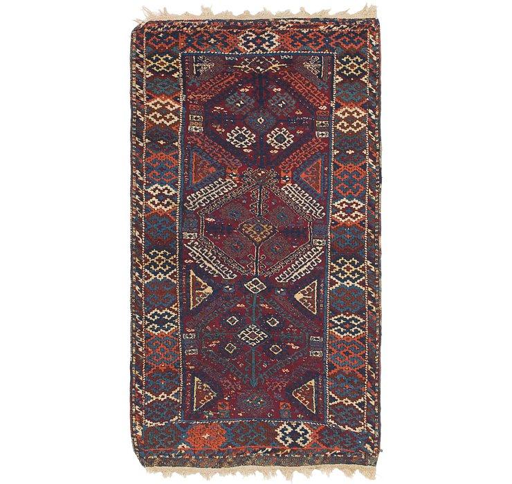 3' 8 x 7' 2 Anatolian Rug