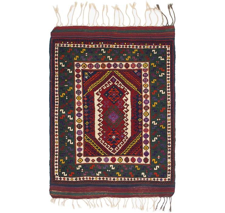 4' 3 x 6' 2 Anatolian Oriental Rug