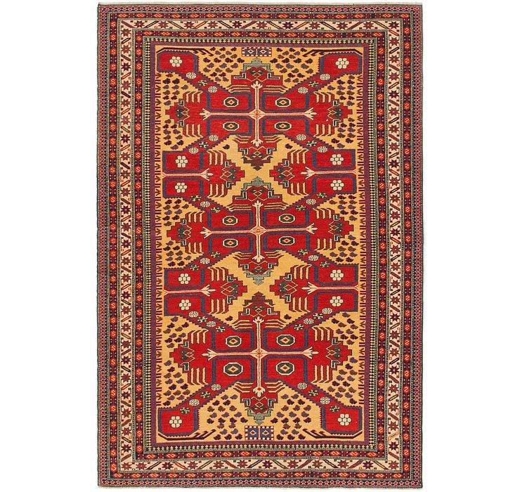 4' 6 x 6' 8 Shirvan Persian Rug