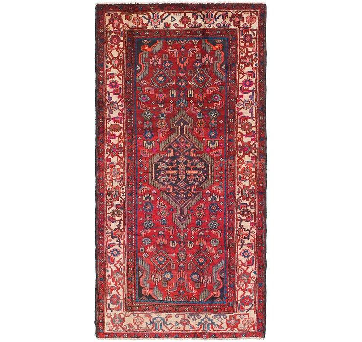 4' 7 x 9' 2 Mazlaghan Persian Runne...