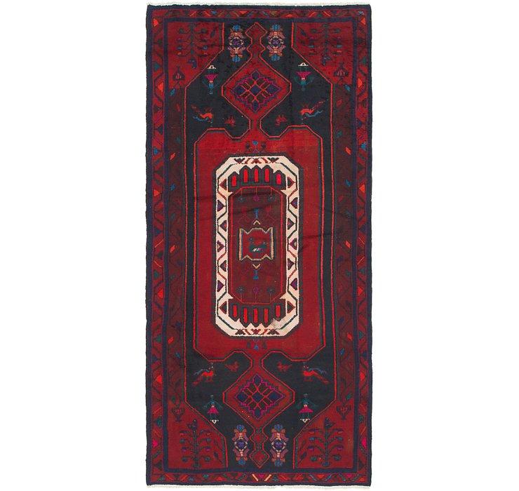 4' x 9' Zanjan Persian Runner Rug