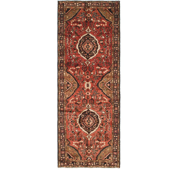 3' 8 x 10' 3 Hamedan Persian Runner ...