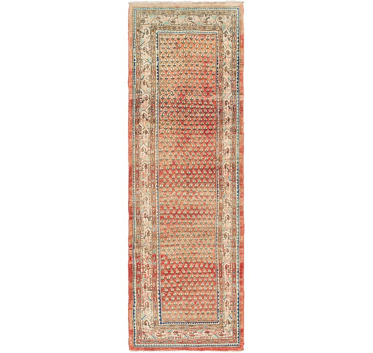 3' 7 x 11' 5 Botemir Persian Runner ...