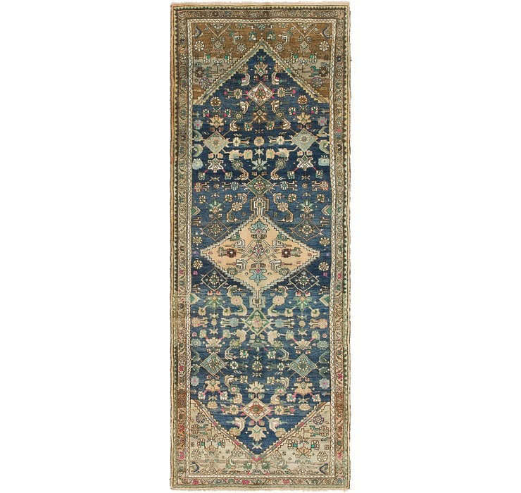3' 8 x 10' 7 Hamedan Persian Runner ...