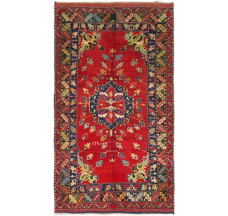 5' 7 x 9' 8 Anatolian Oriental Rug