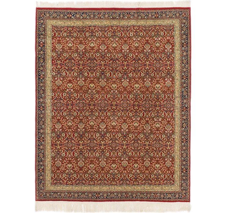 6' 7 x 8' 4 Hereke Oriental Rug