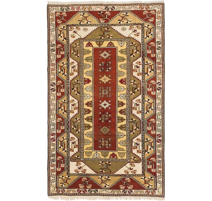 6' 8 x 11' Anatolian Oriental Rug