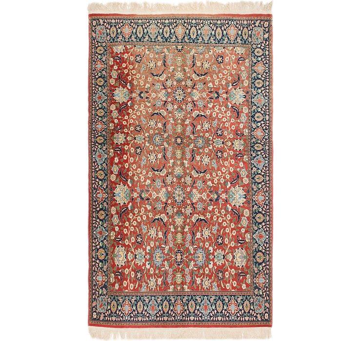 5' 9 x 9' 8 Kashan Persian Rug