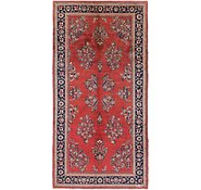 Link to 5' 7 x 11' Sarough Persian Runner Rug