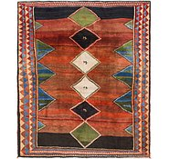 Link to 7' 10 x 9' 6 Shiraz-Gabbeh Persian Rug
