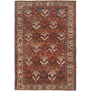 Link to 208cm x 305cm Bakhtiar Persian Rug item page