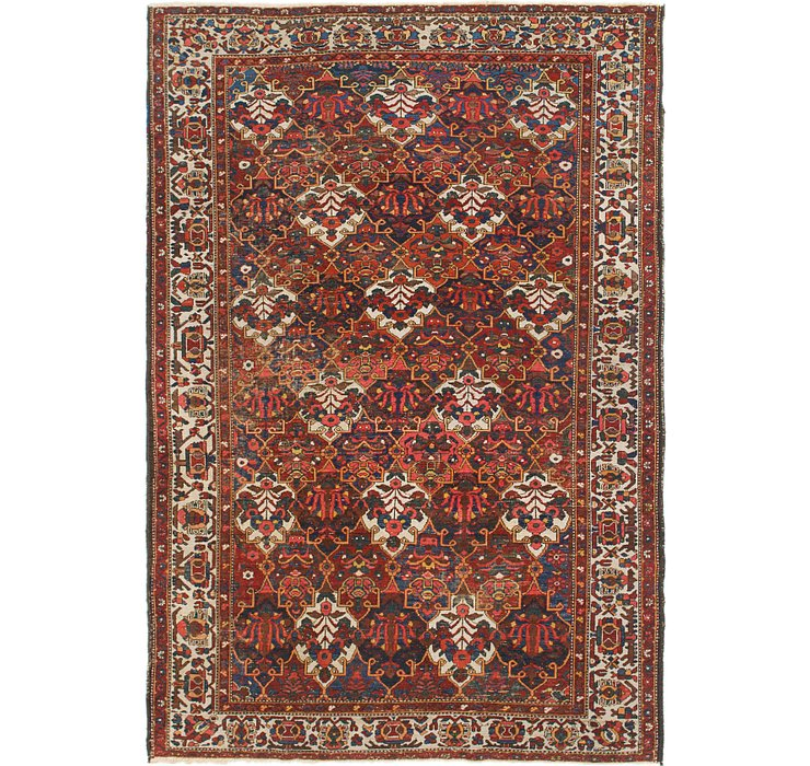 HandKnotted 6' 10 x 10' Bakhtiar Persian Rug