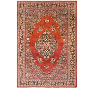 Link to 7' x 10' 6 Sarough Persian Rug
