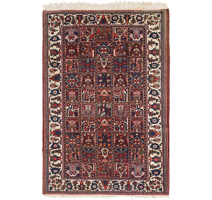 6' 8 x 9' 10 Bakhtiari Persian Rug