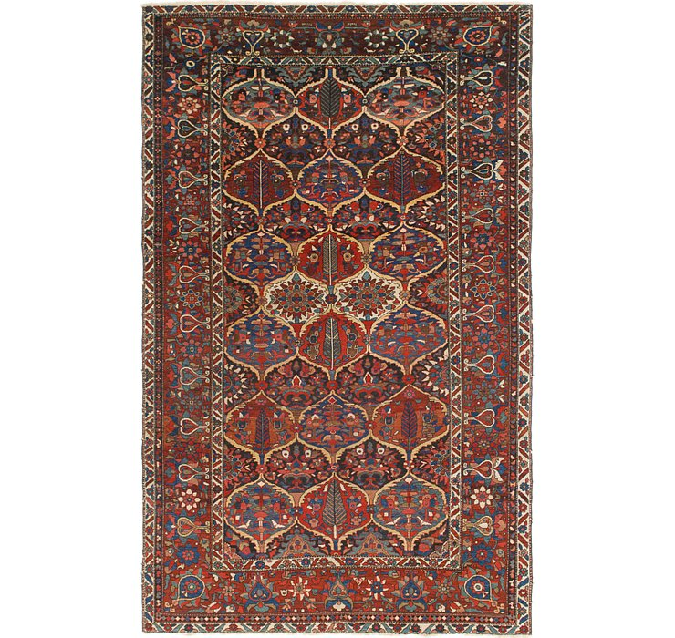 6' 6 x 10' 8 Bakhtiari Persian Rug