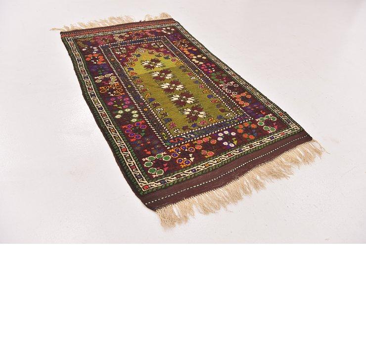 2' 9 x 4' 9 Anatolian Oriental Rug