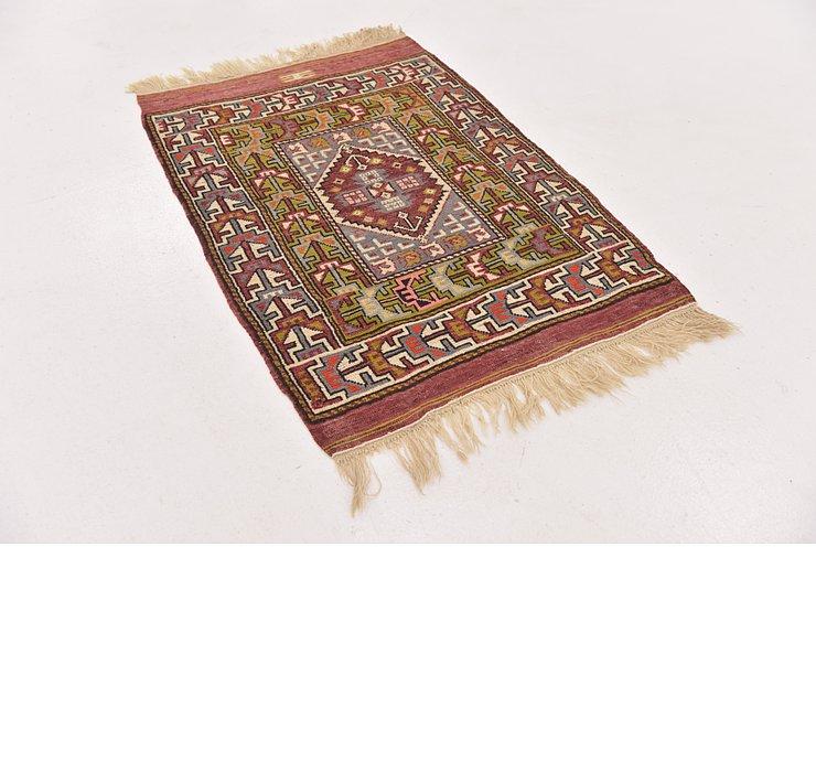 2' 7 x 3' 9 Anatolian Oriental Rug