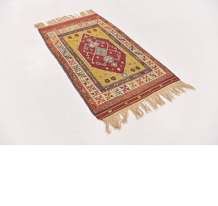 2' 4 x 4' Anatolian Rug
