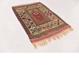 HandKnotted 3' x 4' Anatolian Rug