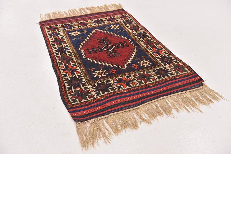 3' x 4' 4 Anatolian Rug