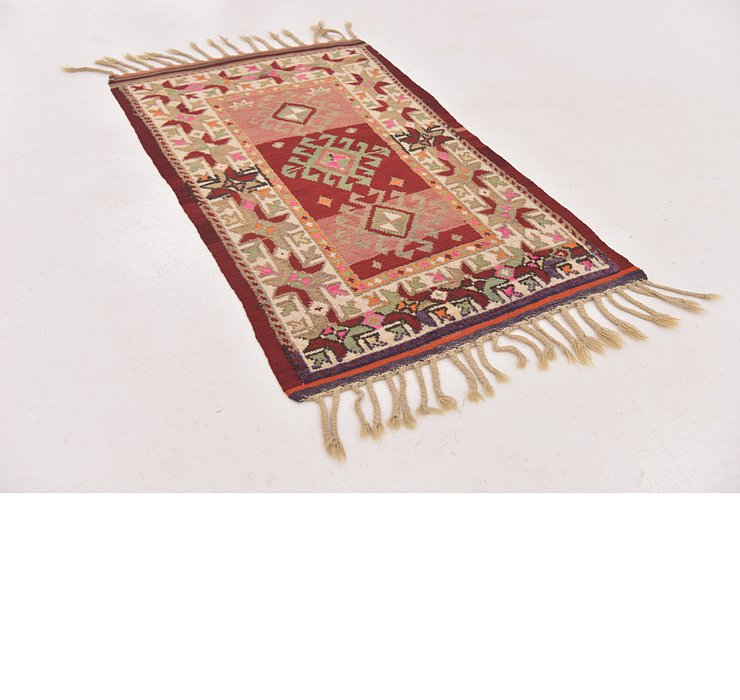 2' 3 x 3' 10 Anatolian Rug