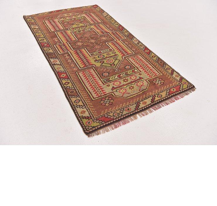 2' 7 x 4' 9 Anatolian Oriental Rug