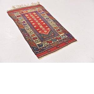 HandKnotted 2' 5 x 4' 4 Anatolian Rug