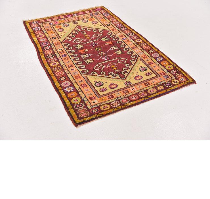 3' x 4' 5 Anatolian Oriental Rug
