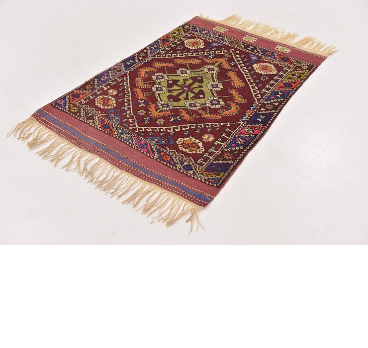 2' 9 x 4' Anatolian Oriental Rug