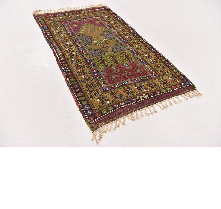 3' x 5' Anatolian Oriental Rug