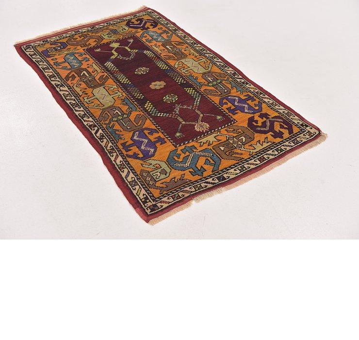 2' 10 x 4' 6 Anatolian Oriental Rug