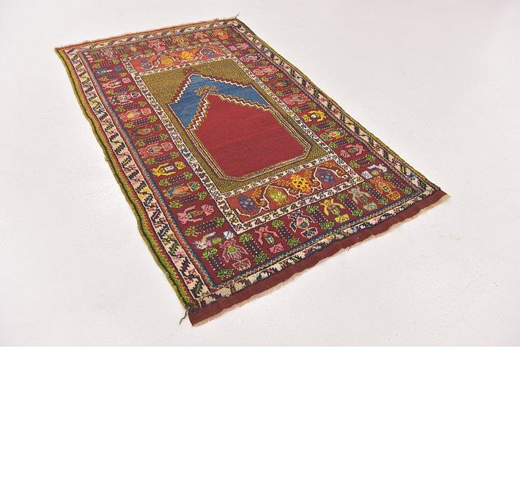 3' 5 x 5' 8 Anatolian Rug