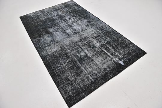 Dark Gray 4 6 X 7 3 Ultra Vintage Persian Rug Persian Rugs