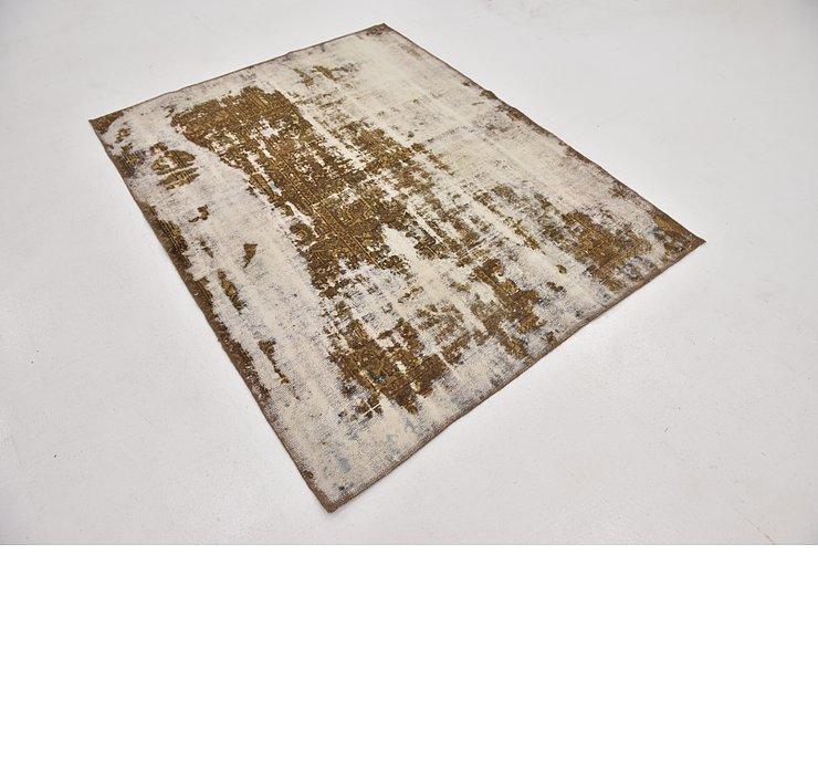 4' 7 x 5' 10 Ultra Vintage Persian Rug