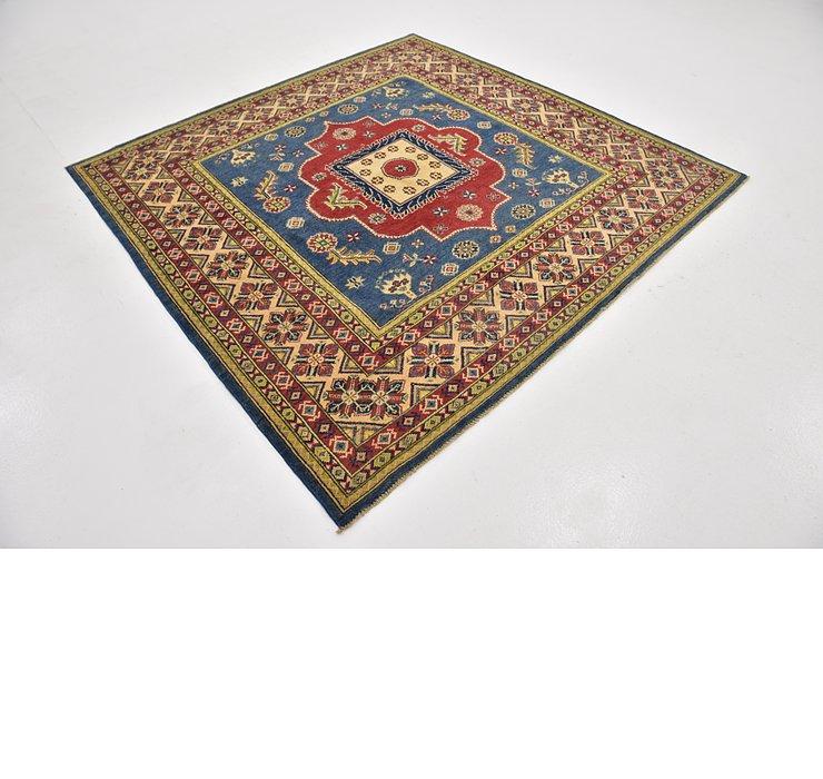6' 7 x 6' 8 Kazak Square Rug