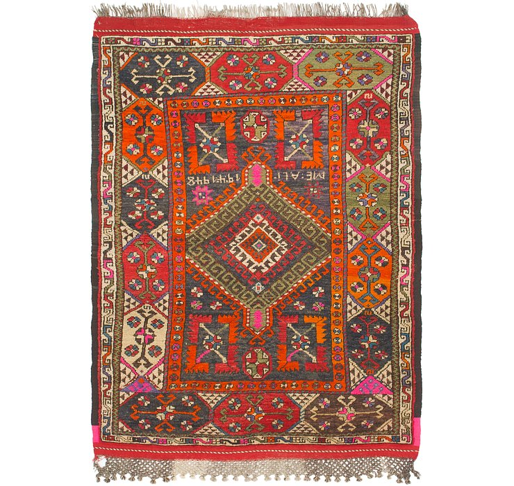 4' 4 x 6' Anatolian Rug